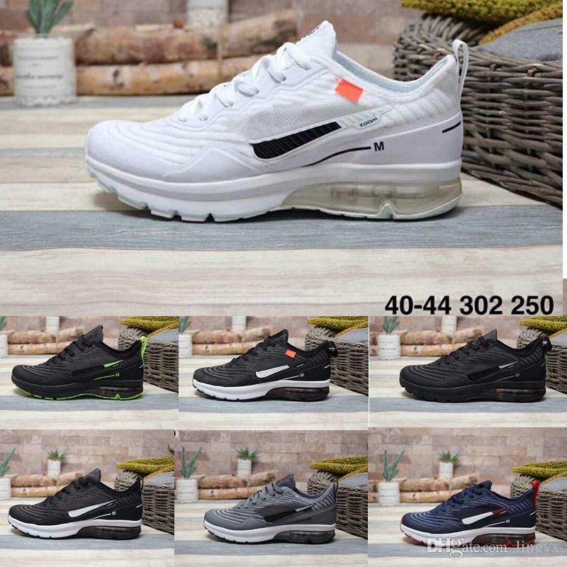Nike Air Max AXIS zoom Modelos de explosión Zapatillas para correr con amortiguador trasero de la serie AXIS zoom de los últimos modelos para hombre y