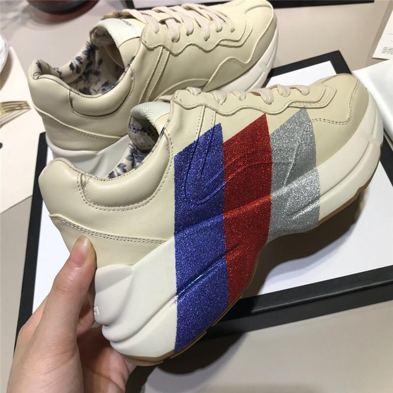a73bd99fe6b4 2019 Man Women Old School Style Casual Beige Sneaker Thick Sole Men Shoes  Women Suitable Fashion Walking Shoes Cheap Shoes Online Summer Shoes From  ...