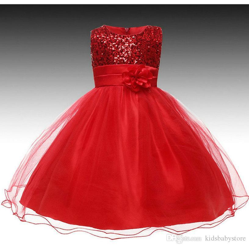 d48687be517b1 Satın Al Kızlar Için Elbise Düğün Parti Prenses Noel Dresse Kız Parti  Kostüm Çocuklar Pamuk Parti Kız Giyim 3 12 Yaşında, $16.76 | DHgate.Com'da