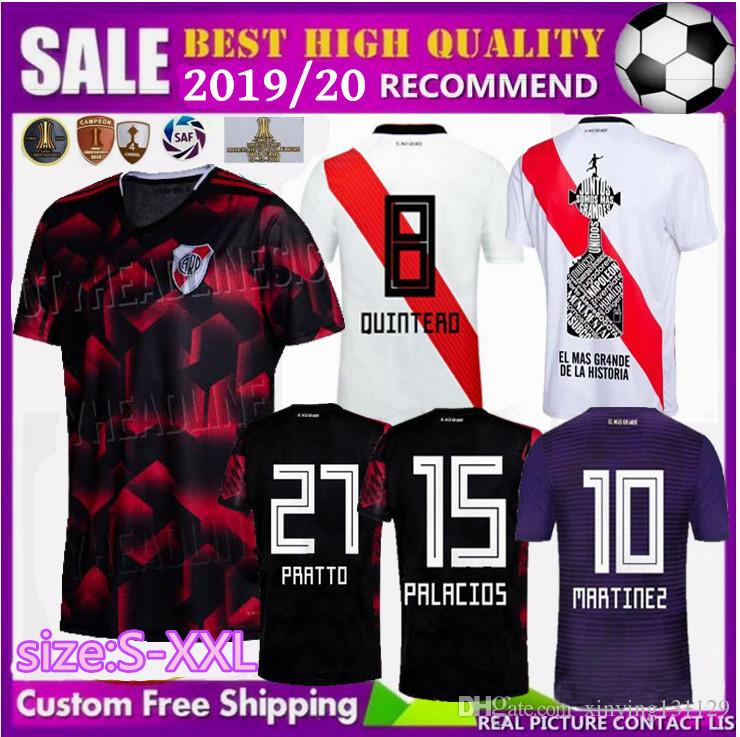 a30d217c210 2019 FREE Ship 2019 2020 New River Plate PONZIO Soccer Jerseys 19 20 SCOCCO  CASCO Home MARTINEZ AWAY RED PEREZ FERNANDEZ FOOTBALL SHIRTS From  Xinying131129