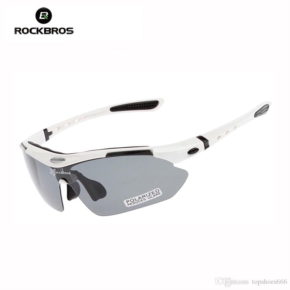 124618f6520f RockBros Unisex Polarized Bicycle Riding Sun Glasses TR90 Sports Glasses  Outdoor Cycling Eyewear