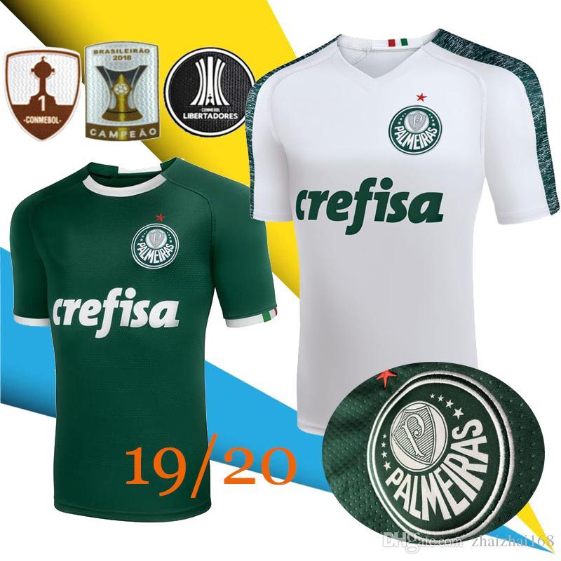 159e2e38a12 2019 New 2019 20 Palmeiras Soccer Jerseys Brazil 19 20 HOME Away Camiseta  DUDO G.JESUS JEAN ALECSANDRO Palmeiras LUCAS LIMA GREEN Football SHIRTS  From ...