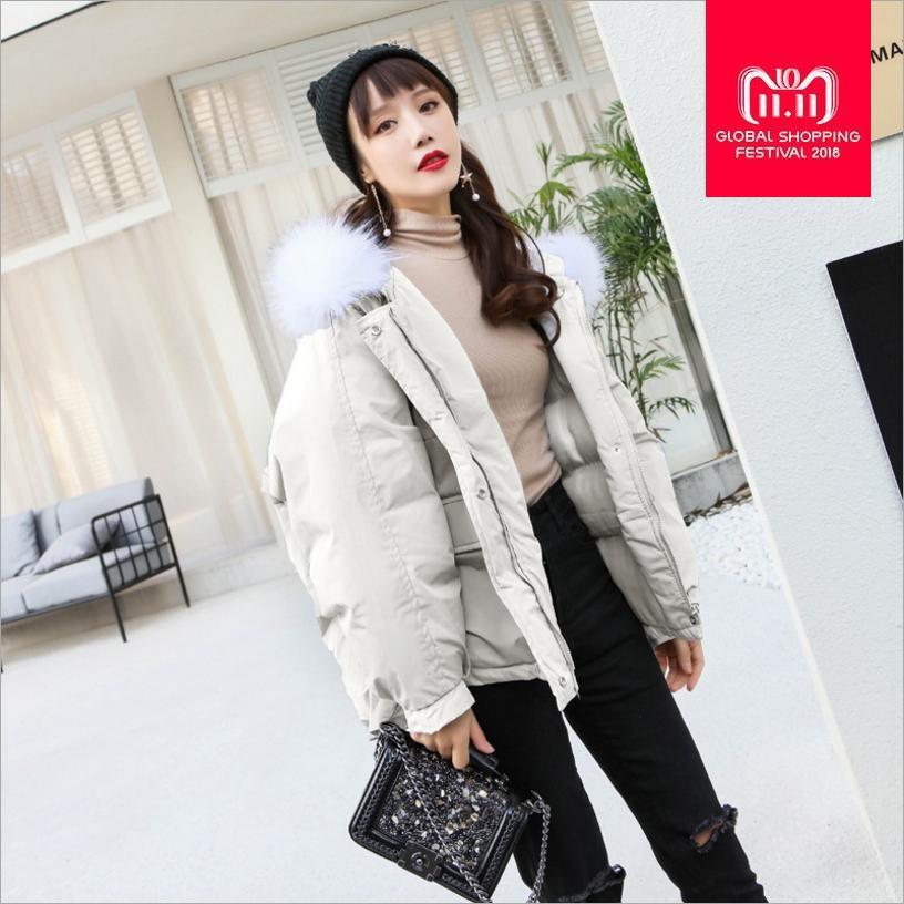 b4fbcc30749 Cotton Coat Female 2018 Winter New Chic Korean Version Fashion Women ...