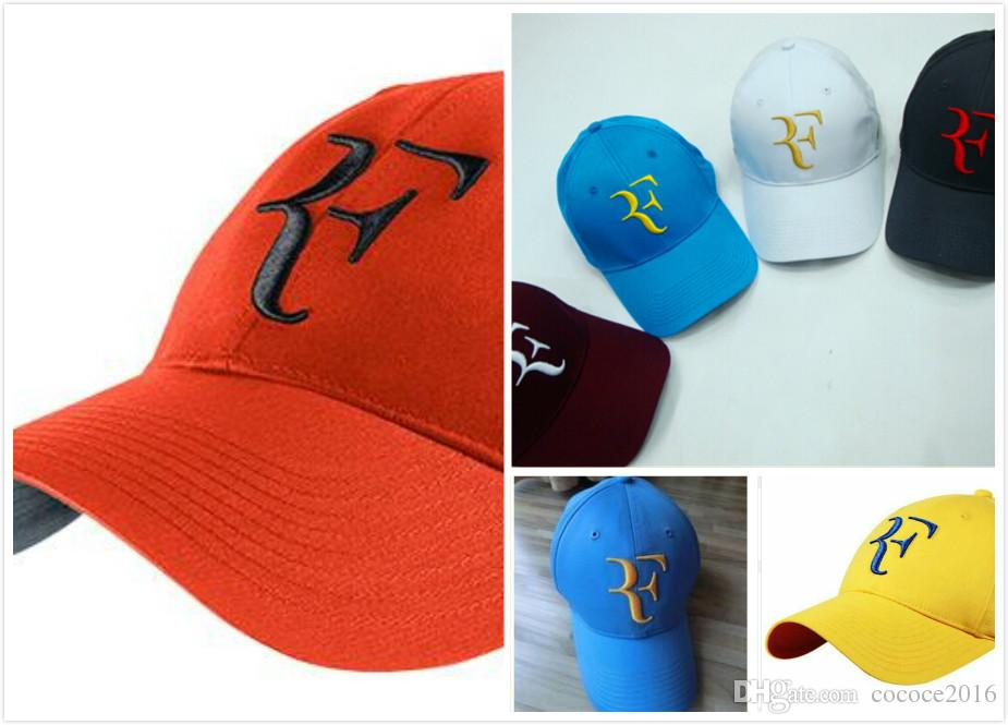 1500e50b0a77f 2019 Roger Federer Super Star Limited Edition Latest New Fashion Tennis  Excellent Quality Roger Federer RF Tennis Tennis Brand Hat Cap Newsboy Cap  Trucker ...