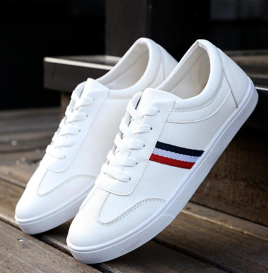 2019 New Style White Sneakers Men Men Breathable Leisure Shoes