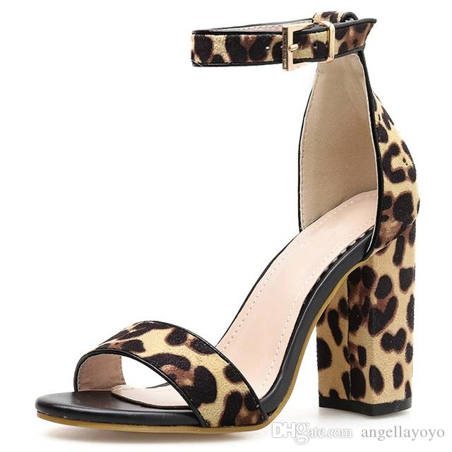 sports shoes 68d9a b4ec8 Leopard Mary Janes Schuhe Für Frau 2019 Frühjahr Neue Pumps Frauen Schuhe  Sandalen Pailletten tuch High Heels 11 cm Damen Party Schuhe