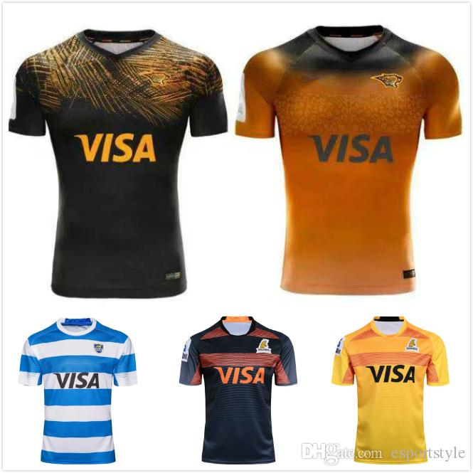 6de8b4a8ee2 2019 2019 2020 Argentina Jaguares Rugby Jerseys 2019 UAR Jaguares Jersey  Shirts 2018 Argentina Rugby Jerseys Size S 3XL From Esportstyle, $18.79 |  DHgate.
