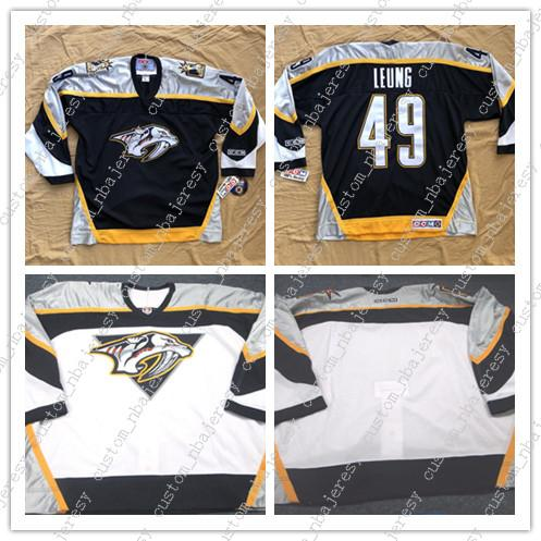 1ab1b1fb6 2019 Cheap Custom Nashville Predators CCM Hockey Jersey Mens Personalized  Stitching Jerseys From Custom nbajersey