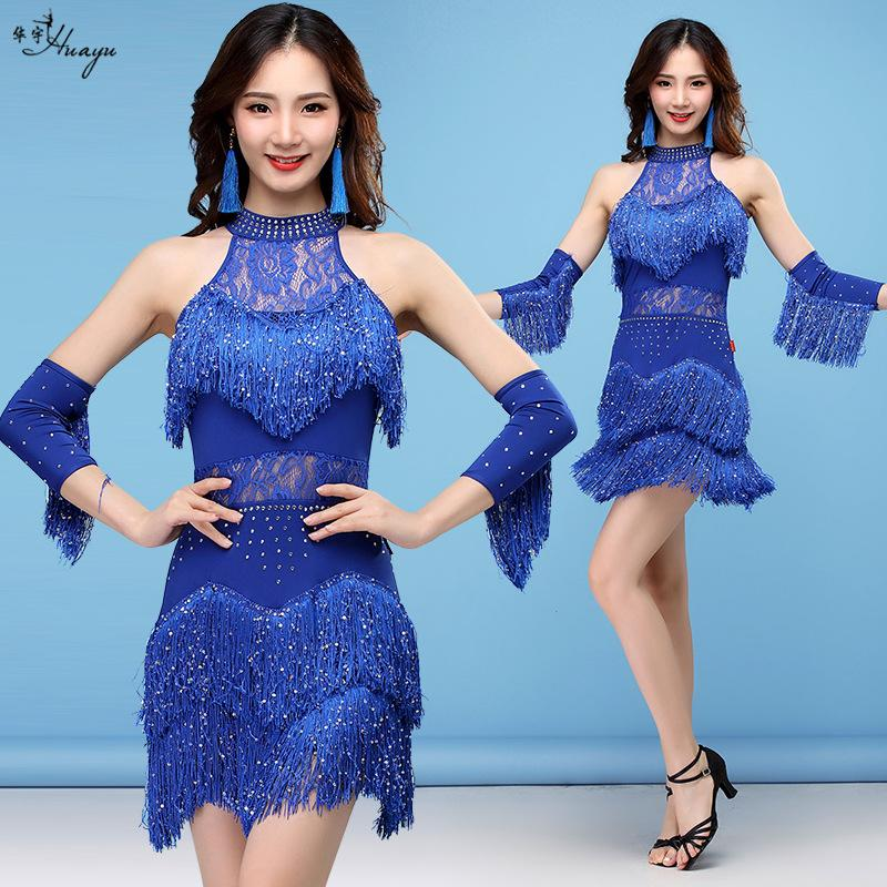 71ff7e68b45 Elegant Sexy Unequal Women Girls Sequin Fringe Tassel Skirt Ladies Latin  Tango Ballroom Salsa Dance Dress NZ 2019 From Ferdinand07