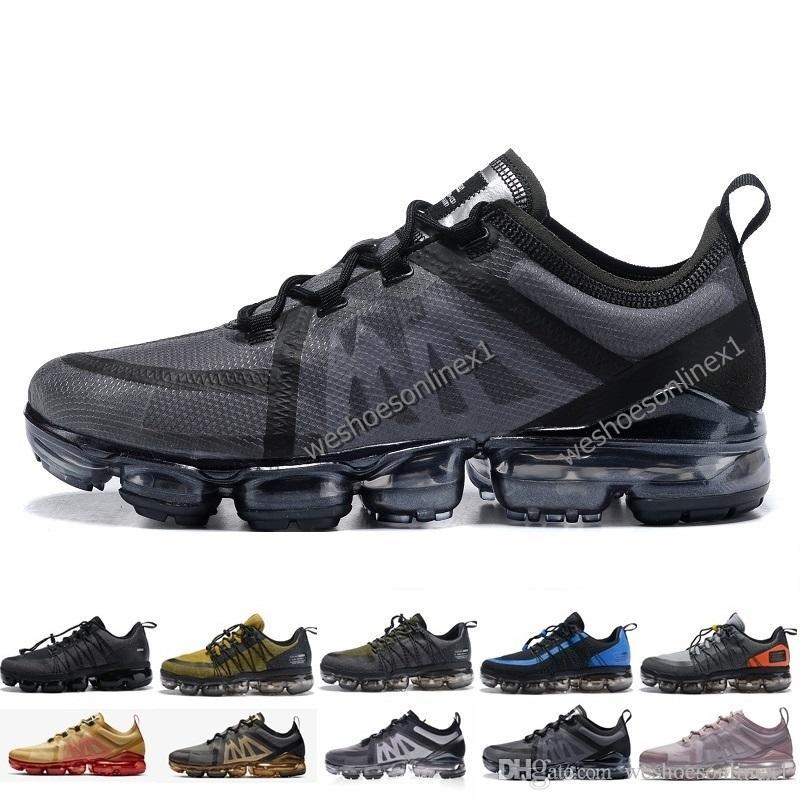 brand new 2d244 25920 Nike Air Max Vapormax 2019 El Más Nuevo UTILIDAD Zapatos Atléticos Para  Hombre Tn Plus Triple Blanco Negro REFLECTIVO Medio Verde Oliva Borgoña  Crush ...