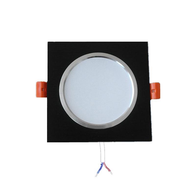 Ac220v Chambre Dimmable Drive Foyer Downlight Dans Encastrable Spot 3w Carré Ampoule Construit Cuisine Lampe Led 7w 10w 5w 9W2IYDHE