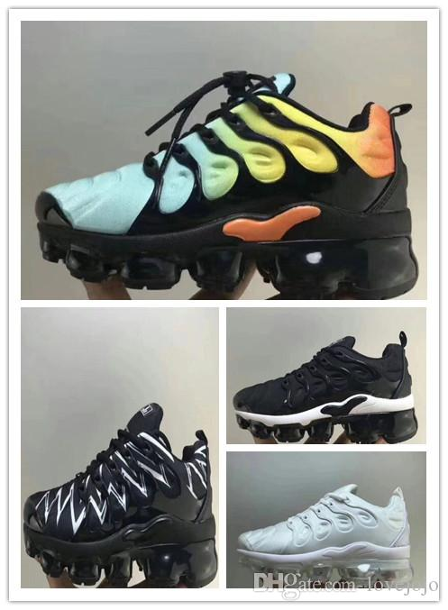 nike TN plus air max airmax Neue kinder plus tn kinder eltern kind casual  schuhe für jungen mädchen modedesigner turnschuhe weiß laufschuhe