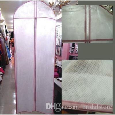 Omniseal Extra Large Bridal Wedding Dress Dust Cover Single-sided  transparent Non-woven For Adult Clothing Bridal Gowns Storage Accessories