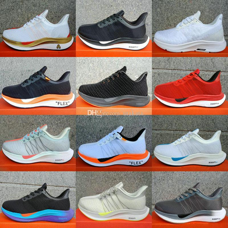 75f79cbe5f4e 2019 New Zoom Pegasus Turbo React Element Running Shoes Pegasus 35 Turbo  Barely Grey Hot Punch Black X Trainers Zapatos Size 36 45 Men Shoes On Sale  Shoes ...