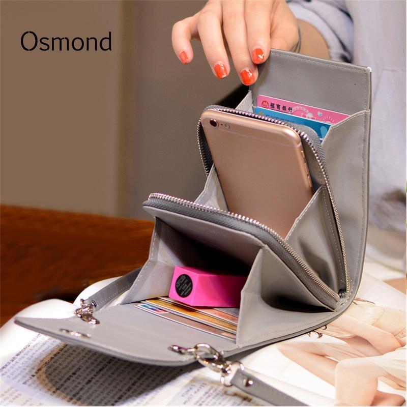 Designer Osmond Design Women Handbags Korean Mini Bag Cell Phone Bags  Simple Small Crossbody Bags Casual Ladies Flap Shoulder Bag Green Womens  Purses ... f1b6149e6e