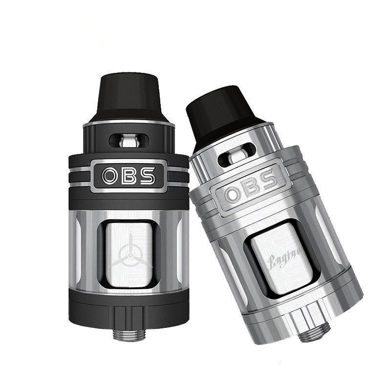Original Authentic OBS Engine RTA RBA vape pen atomizer Top Refill 25mm 304 5.2ml tank for RX2/3 electronic cigarette mod