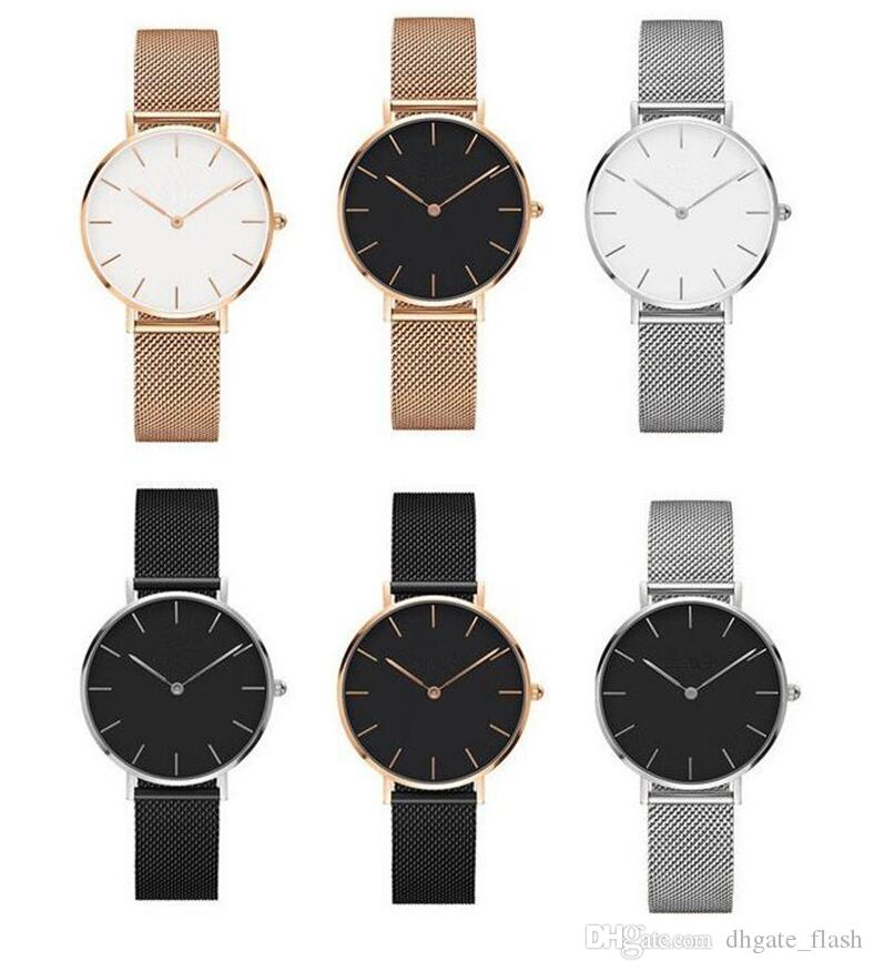 627a62db8fe New Trend Girls Steel Strip Daniel Wellington Watches 32mm Women Watches  Luxury Brand Quartz Watch DW Clock Relogio Feminino Montre Femme Best Deals  On ...