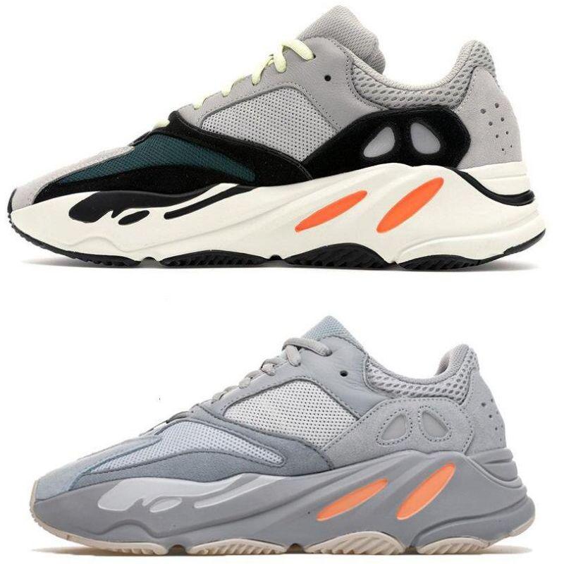 602e226c22ec8 2019 Original INERTIA V2 Kanye West Wave Runner Static 3M Reflective Mauve  Solid Grey Sports Running Shoes Men Women Sports Sneaker Shoes 36 45 From  Qaz0626 ...