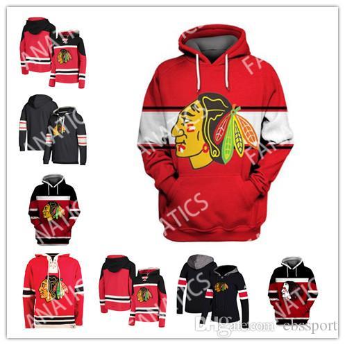 aaf68ec52 2019 Chicago Blackhawks Hoodies 88 Patrick Kane 12 Alex DeBrincat 19 ...