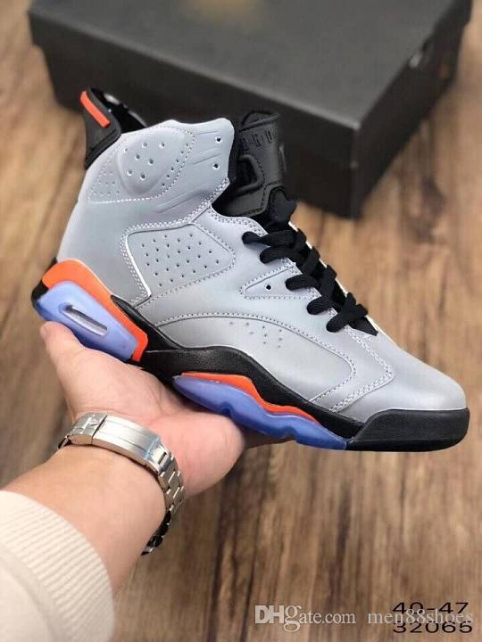 8cd6d73a01d 2019 6s JSP 3M Reflective Infrared Bugs Bunny Basketball Shoes Men 6 Silver  Black Infrared Sports Sneakers High Quality With Box CI4072 001 From  Men88shoes, ...