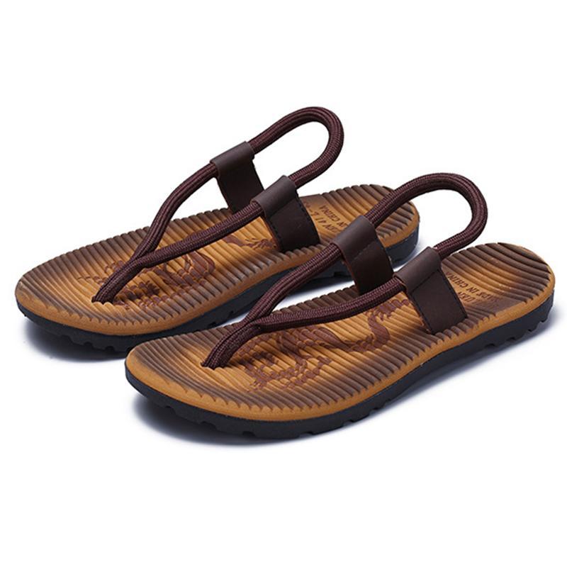 73b1b00b1d6d 2019 Newest Design Men S Sandals Male Shoes Summer Beach Outdoor Causal Men  Sandals Antislip Durable Flip Flops Shoes Size 39 44 Brown Wedges Gold  Wedges ...