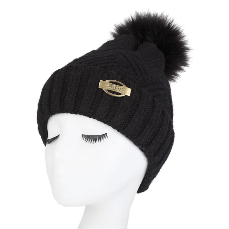 5722776c31e4d 2019 New Arrival Women'S Knit Baggy Beanie Oversize Fashion Winter Hat Ski  Slouchy Chic Cap From Zaonoodle, $80.99 | DHgate.Com