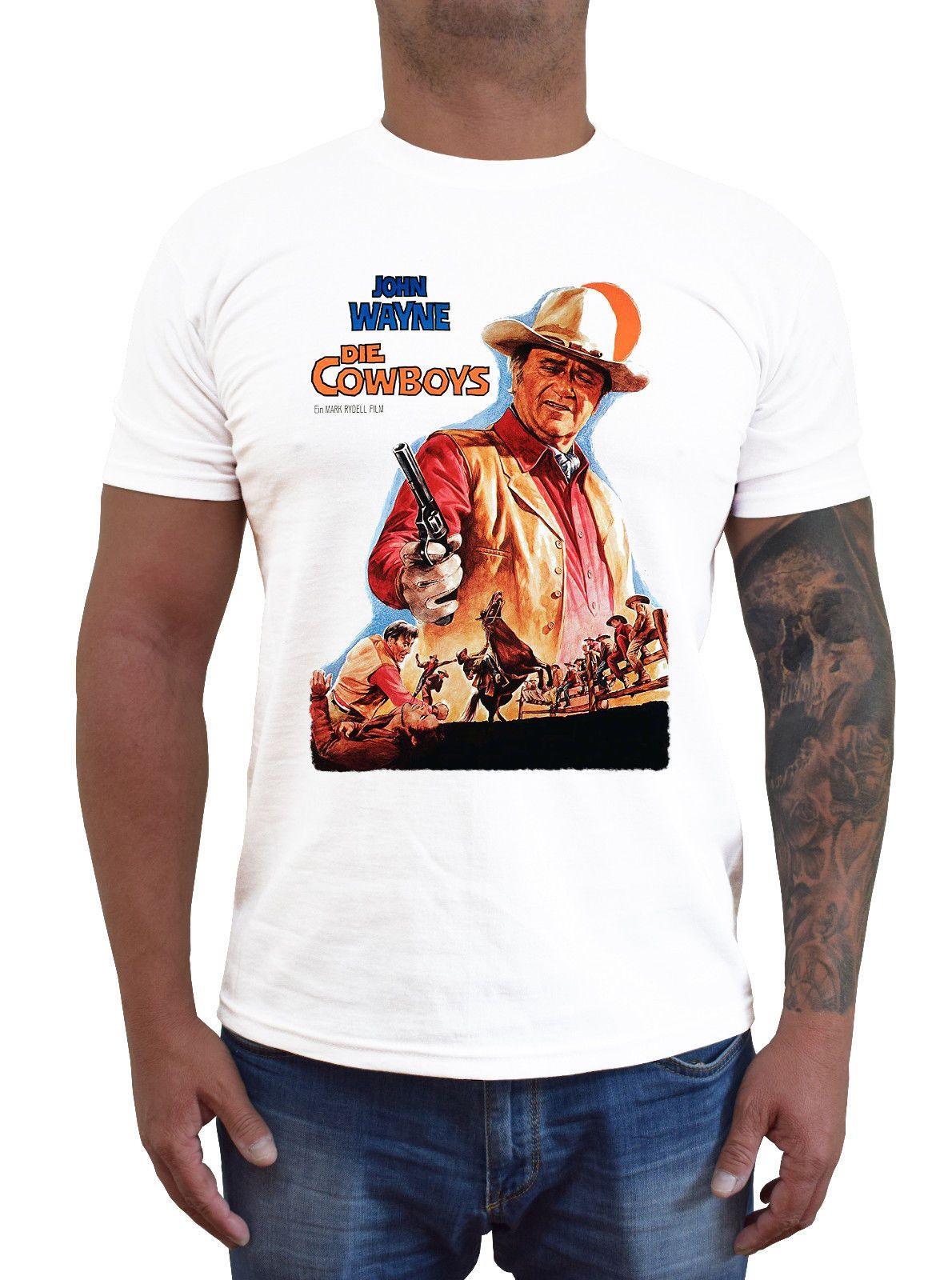 c8930f6b DIE COWBOYS Ver. 1 John Wayne T Shirt White S 5XLFunny Unisex Casual Top T  Shirt Buy Online Crazy Tee Shirts From Dragontee, $10.28| DHgate.Com
