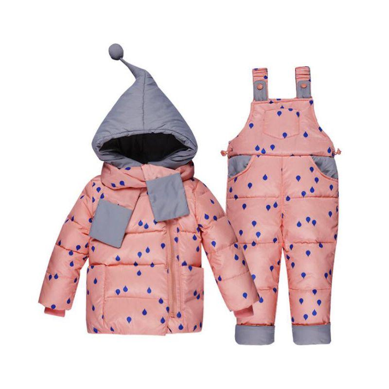 3959c6c8cc85 2019 Good Qulaity 2019 Winter Children S Clothing Set Kids Ski Suit ...