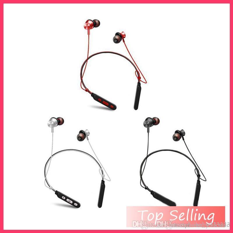 7eb436ba5a7 Wholesale M8 Bluetooth Headphones Wireless Neckband Earphone ...
