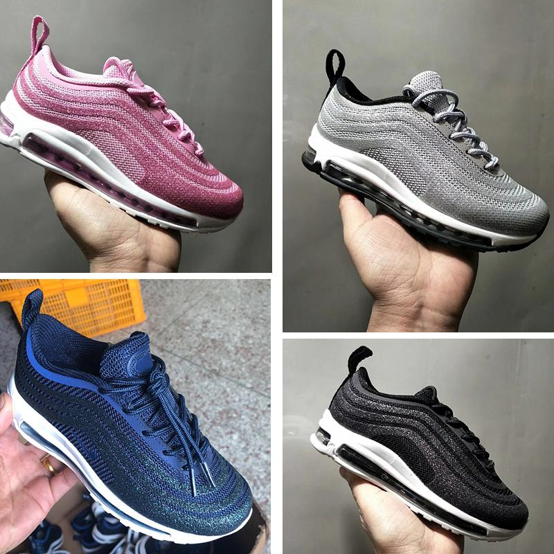 Kids Sean Wotherspoon 1 Hybrid Boy Girl Corduroy Sports Shoes High Quality Baby Children Parra Designers Sneakers Bowling Shoes Eur28-35
