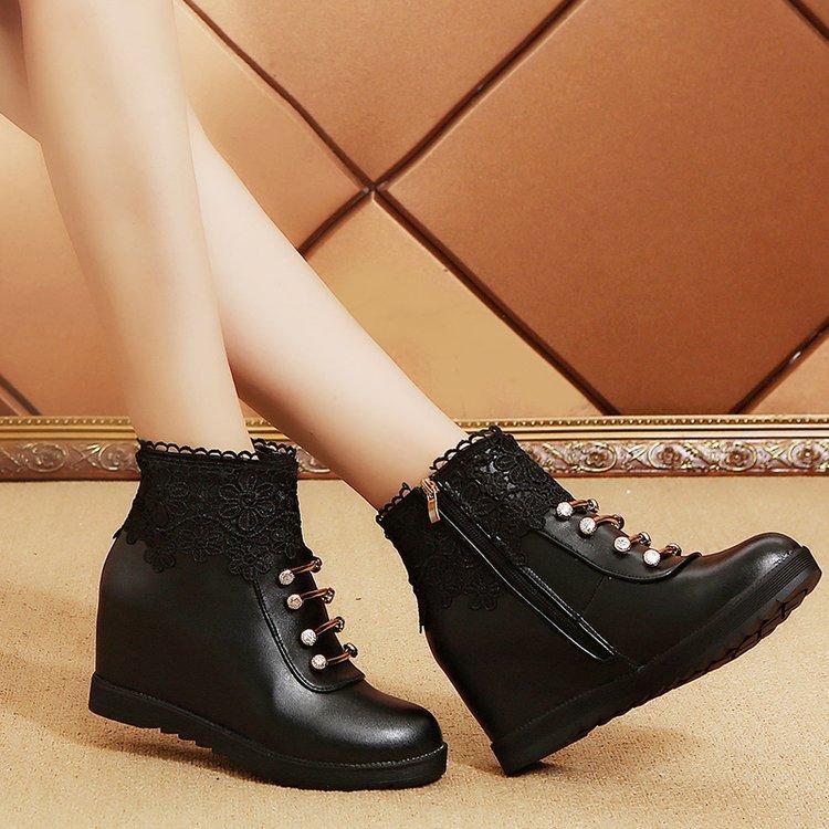 0a795379c5597 Compre 2018 Botas De Plataforma Mujer Cuñas Botines Para Mujer Nieve  Zapatos De Invierno Botas Plataforma Mujer 4338 A  33.42 Del Kateperry