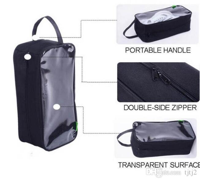 Shoes Bag Travel Storage Tote Dust Laundry Toiletry Wash Bag Organizer Zip Portable Storage Bag Foldable Storage Bags