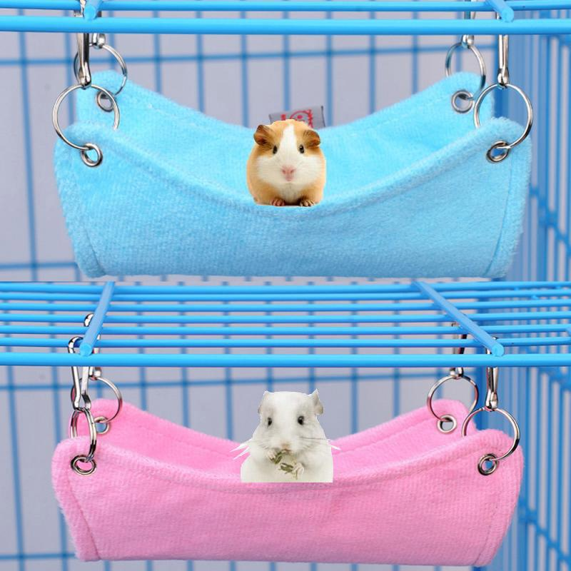 Bird Cages & Nests Bird Supplies Learned Pet Cage Bed Mat Pad Hanging Ferret Hammock Bed Soft Cool Comfortable Mat Pad Hammock Use Kitten Parrot Small Animals Supplies