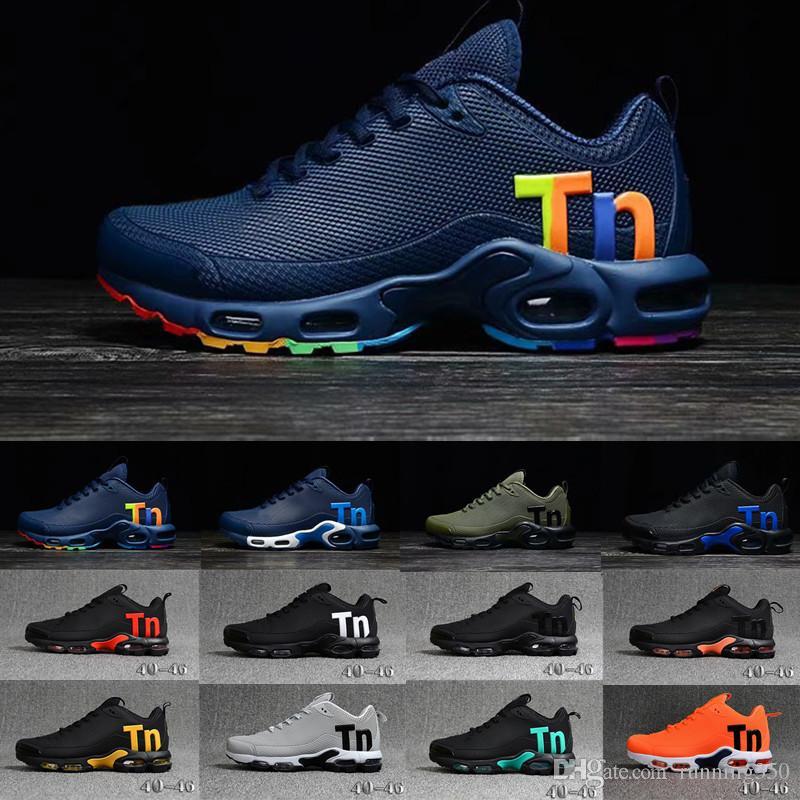 Nike TN Plus Vapormax air max airmax Chaussure TN Plus Zapatillas para correr 2018 tn Hombres Zapatillas para correr al aire libre Zapatillas de