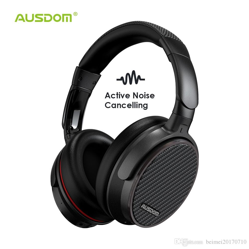 0e15ed5691b Ausdom ANC7S Active Noise Cancelling Wireless Headphones Bluetooth Headset  With Mic Pure Sound For TV Sports Subway Plane Bluetooth Headphones Wireless  ...