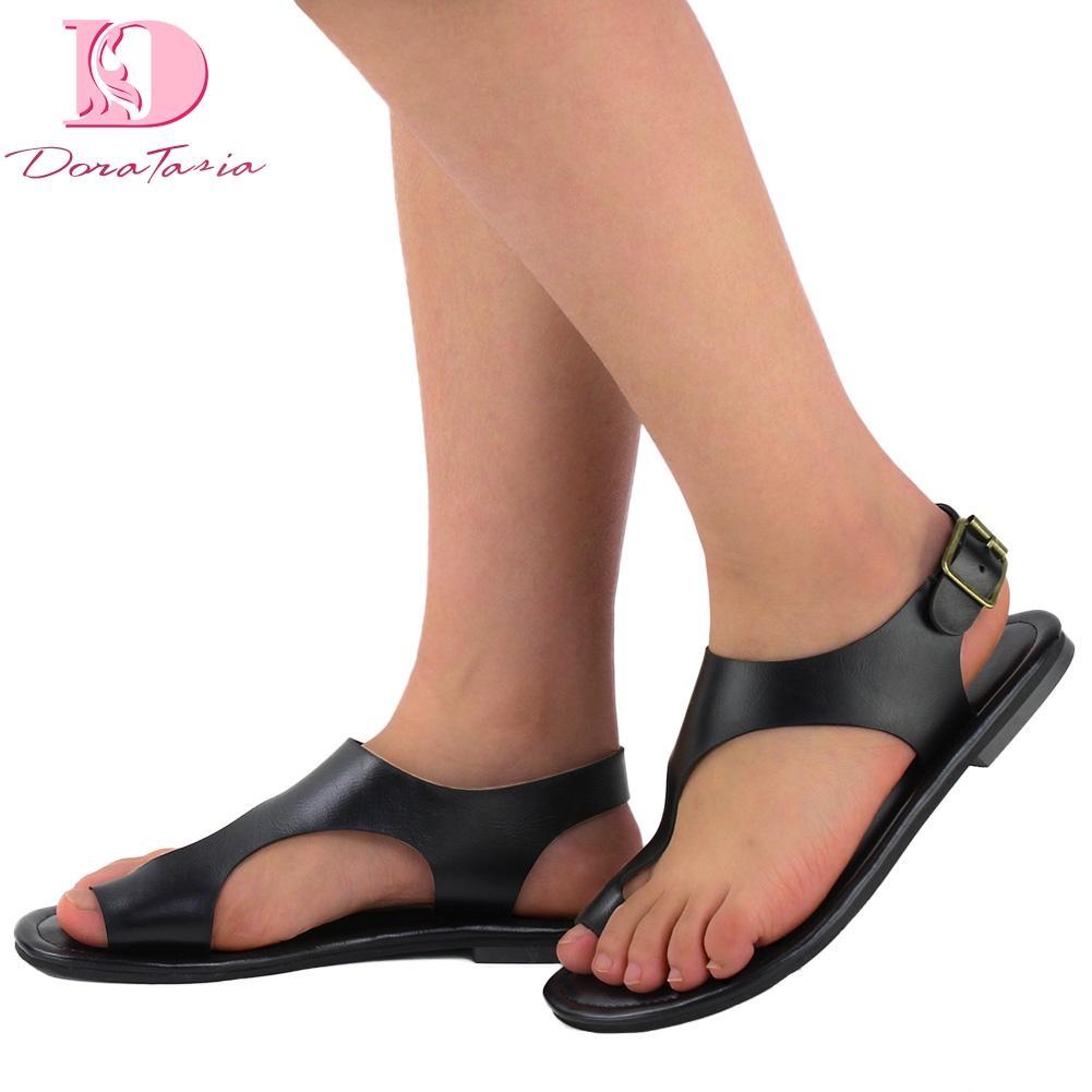 a40d67ee6d02 Doratasia Plus Size 52 Flip Flops Leisure Women Shoes Summer ...