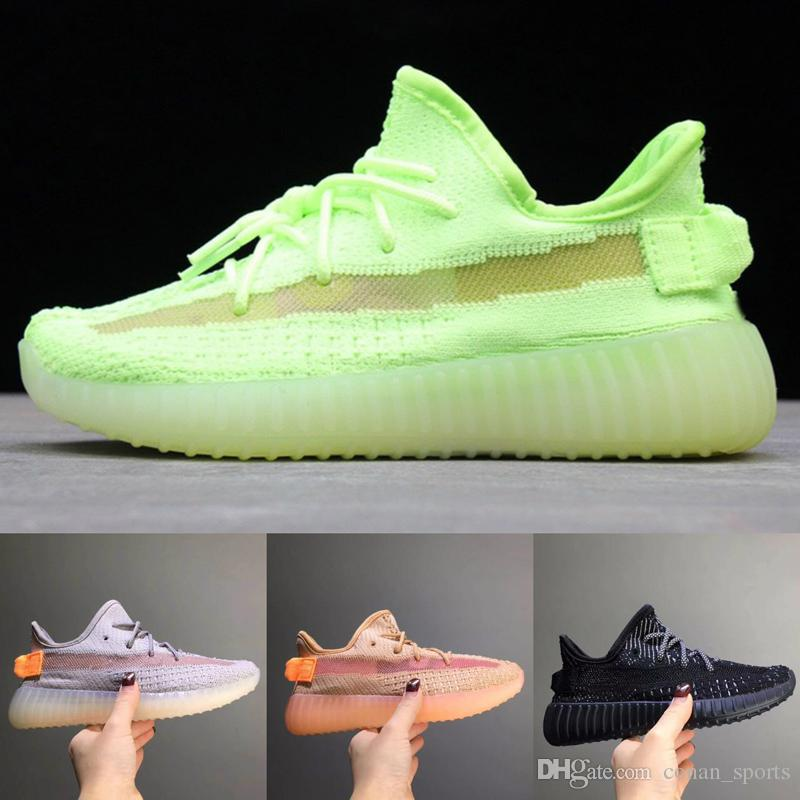 info for 56c3d ef570 Kids Shoes 350 Running Shoes Baby Boy Girl Clay Static Kanye West Beluga  2.0 Toddler Sneakers High Quality Children Athletic Sports Shoes