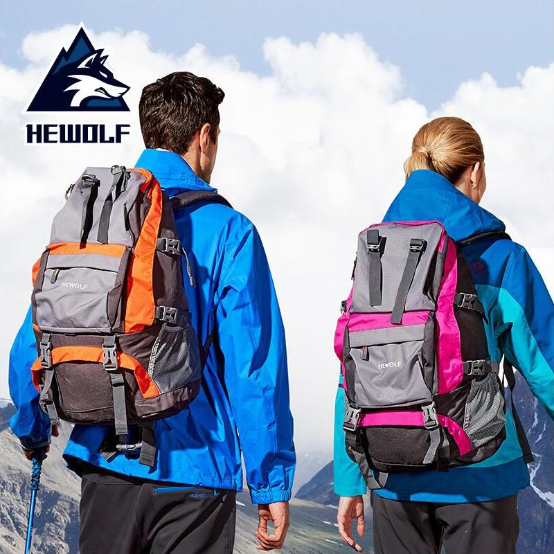 41fd1ee383 HEWOLF 32L Hiking Riding Outdoor Backpack Mountaineering Waterproof Sports  Bag Men And Women Shoulder Small Capacity Travel Black Backpack Camera  Backpack ...