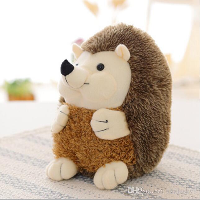 2019 Cute Sedentary Hedgehog Plush Toy Stuffed Animal Soft Toys