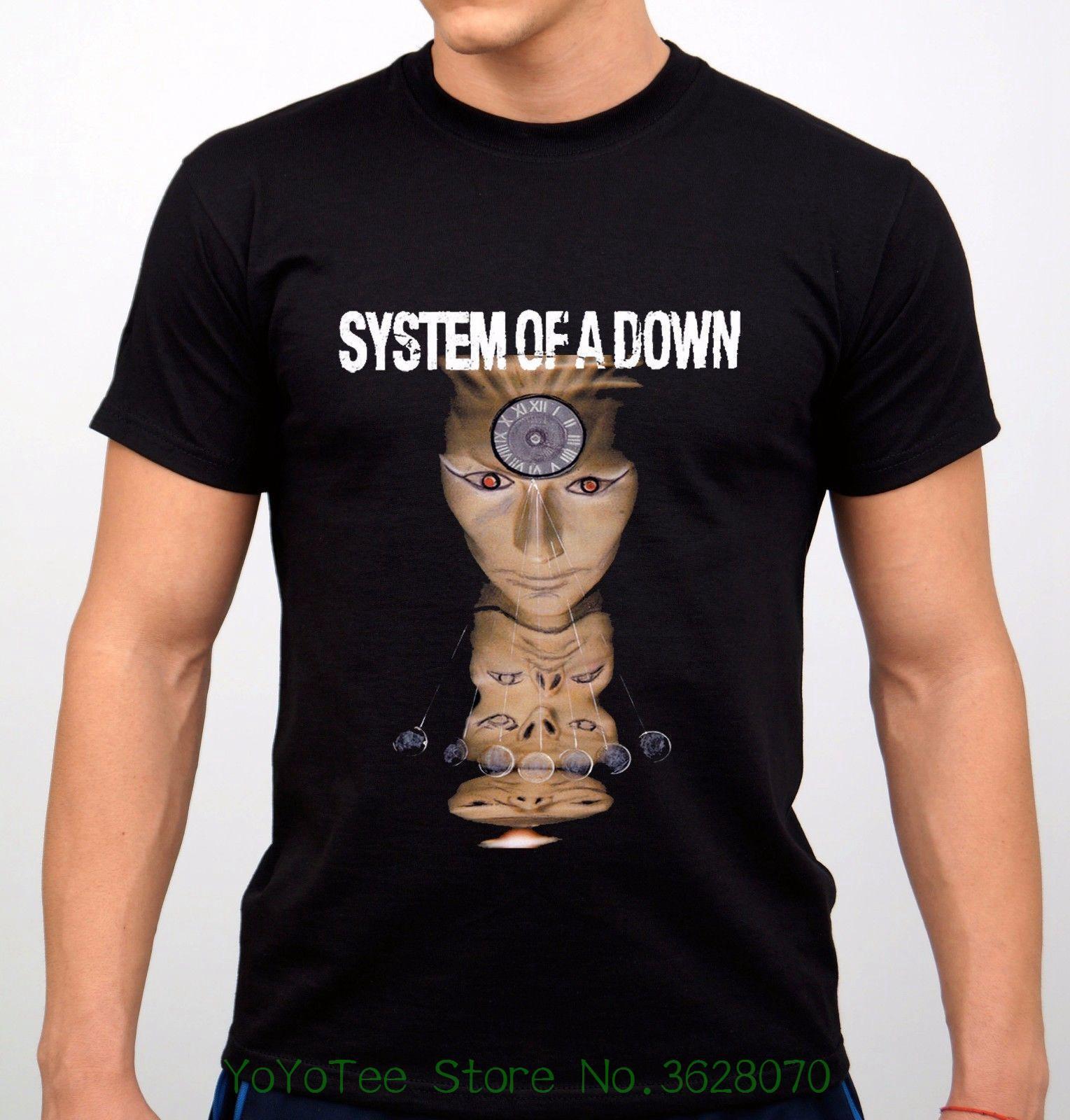 5fe3e515a Summer Casual Man T Shirt Good Quality Sistem Of A Down Tshirtrock Band T  Shirt Black New Weird T Shirts T Shirt Shop Online From Jie027