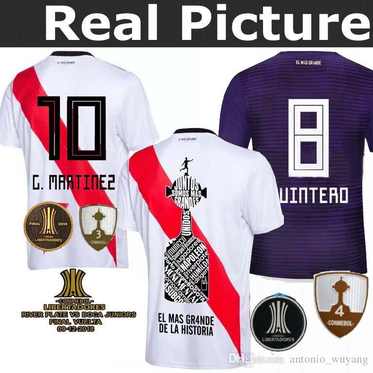 TOP River Plate Mejor Calidad New Jersey 18 19 Local Visitante D ... db00f429abd8a