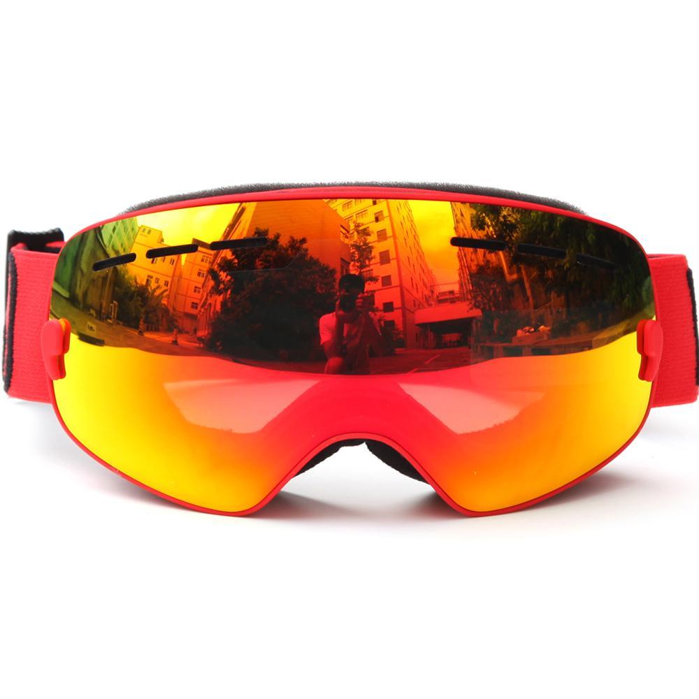 Compre Proteção UV Óculos De Esqui Máscara Crianças Esqui Patinação  Snowboard Goggles Anti Fog Óculos De Neve À Prova De Vento Óculos De Neve  Do Inverno De ... 5ea8727dc0