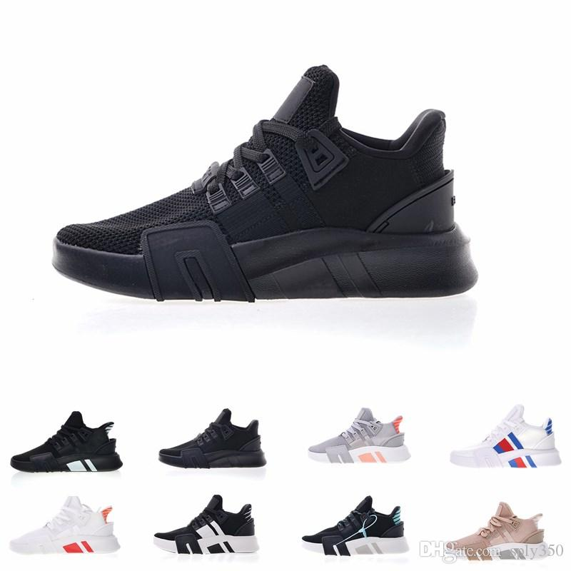 e6f079f5 Compre 2019 Nuevo EQT Bask Support Basketball Mid Running Shoes Para Hombre  Y Para Mujer Calzado Casual Transpirable Hight Quality Run EQT Sneakers  Para ...
