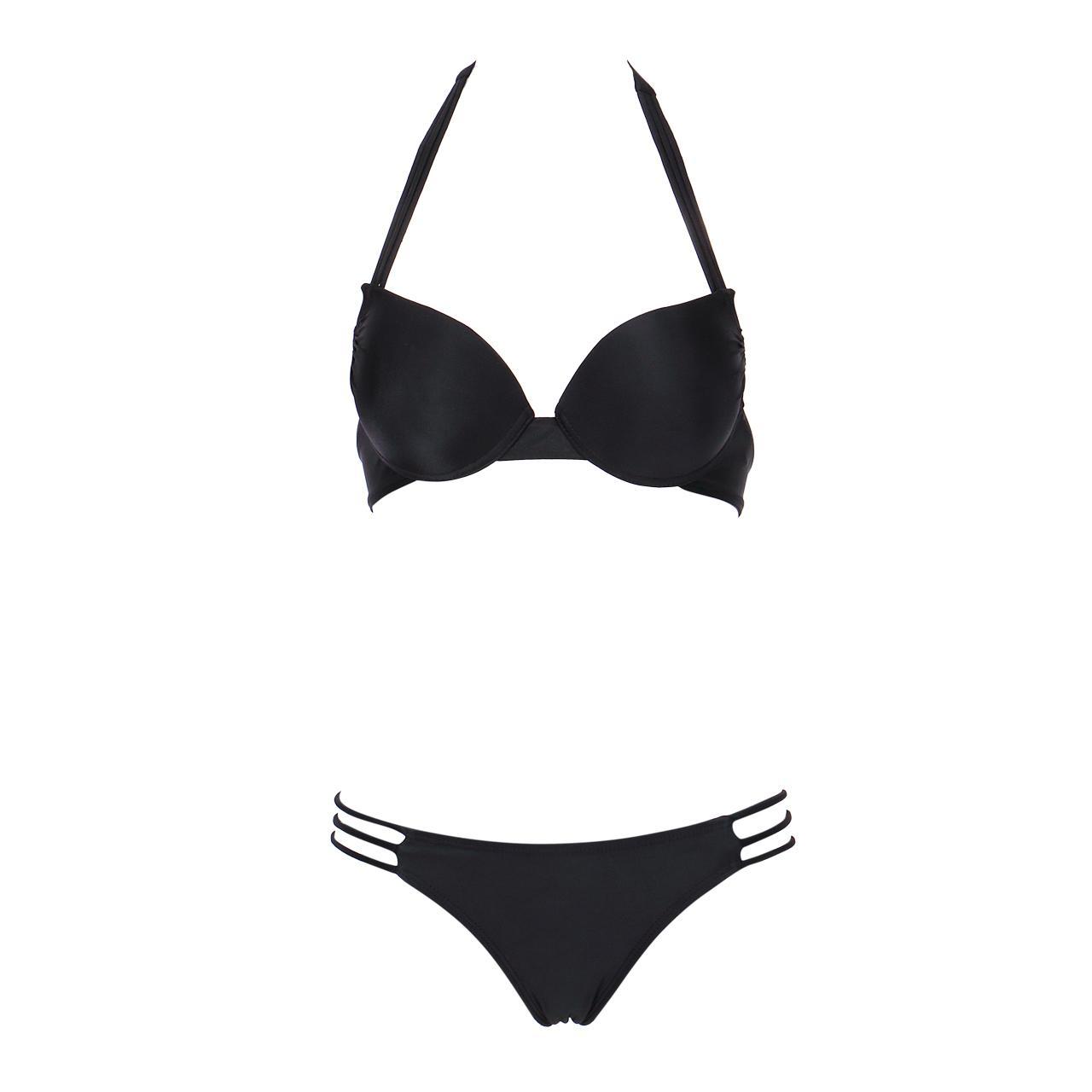 2017 femmes filles Maillots de bain push-up Soutien-gorge rembourré Bikinis Set maillot de bain Maillot de bain Maillots de bain Femme sexy Beachwear plage Ceinture Outwear