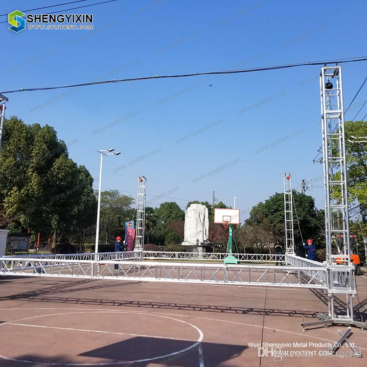 Small Exhibition Stand Sizes : Customized steel structure arch truss roof for small and mini for
