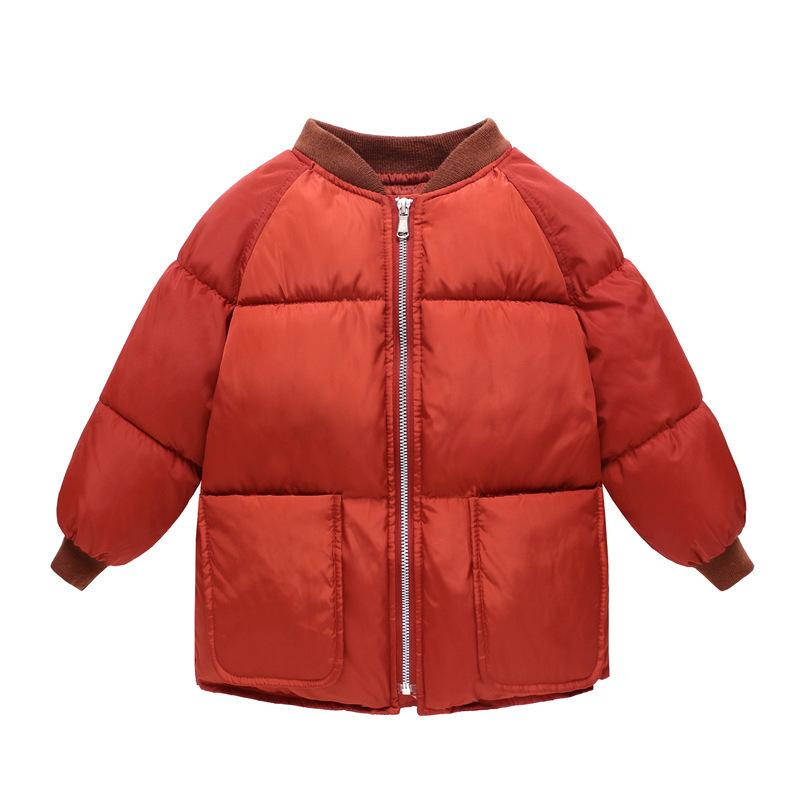 0b304c84 Good Quality 2019 New Arrival Fashion Winter Baby Boys Girls Clothes Thick Warm  Baseball Down Jacket Boys Outerwear Short Coats Long Jackets For Kids Cheap  ...
