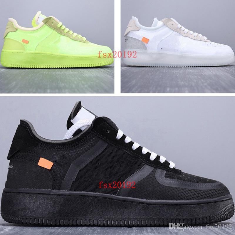 Casuales Mujeres Para Force Blanco Shoes Off Correr White Nike Designer 0 Color 2019 Hombres Aire Volt Negro Deporte Zapatos Air Verde Al 1 2 oWrdxBCe