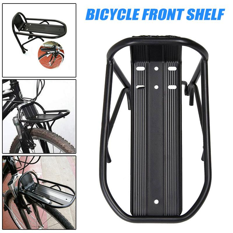 Sales Promotion Cycling Bike Aluminum Alloy Front Rack Bracket Bicycle Carrier Pannier Racks New Brand