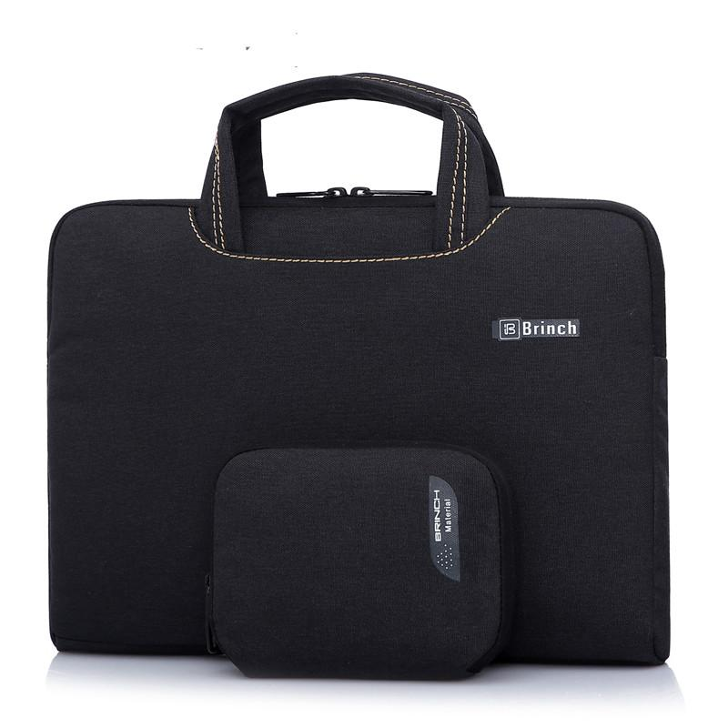 b42da4c99a12 Brinch 13 13.3 14 15.6 inch Waterproof Laptop Sleeve handbag shoulder bag  Laptop case pouch cover with a mouse bag