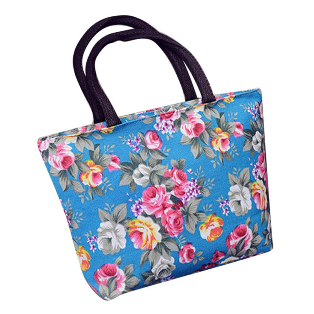 a7245cb133 Cheap 2017 Fashion Women Girls Printing Canvas Shopping Handbag Shoulder  Tote Shopper Bag Gift Wholesale High Quality A0000 Hobo Bags Designer Bags  From ...